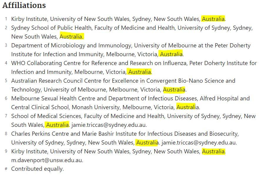 作者群:來自澳洲。